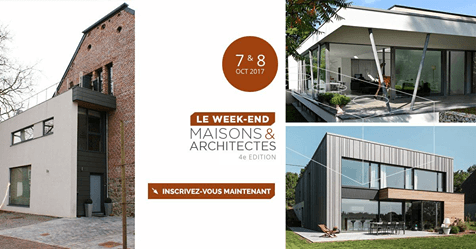 Le week-end Maisons & Architectes - 4e édition
