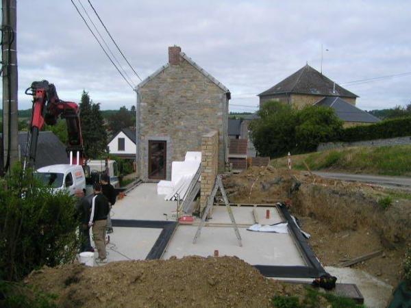 Extension maison en bois belgique l la maison id ale for Constructeur de maison en bois belgique