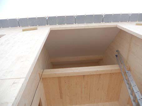 finition en bois laminé de teinte blanche 1