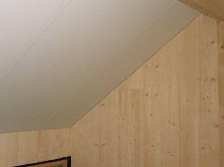 finition en bois laminé de teinte blanche 2