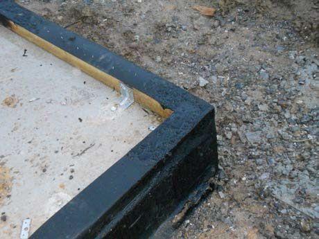 Processus constructif Pose des sablières et étanchéité - 2
